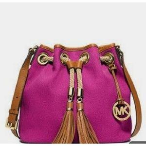 Michael kors marina pink bag